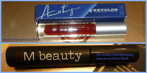 BM Beauty Lash Thickening Mascara Kryolan Professional Make-Up High Gloss