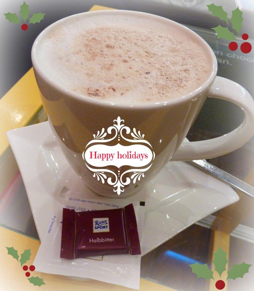 Hot chocolate ritter sport