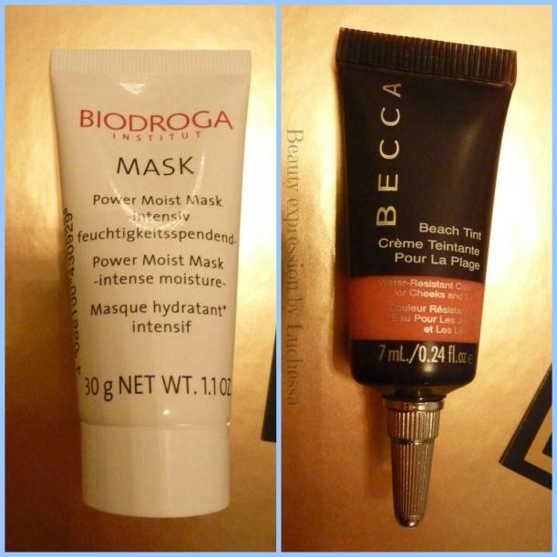 BECCA Beach Tint Biodroga Power Moist Mask