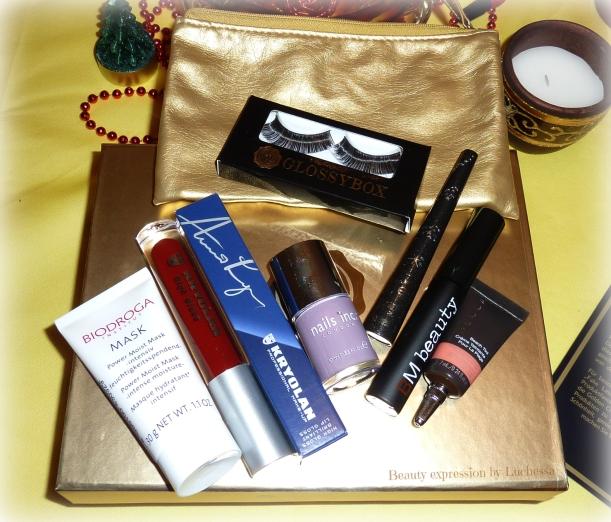 Glossybox Golden Christmas Edition