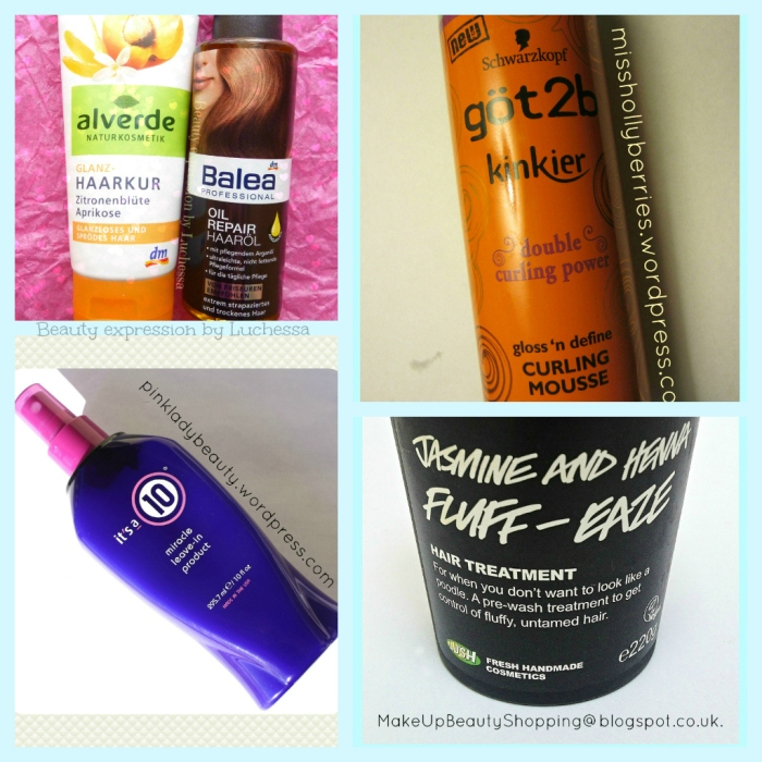 Hair treatment products