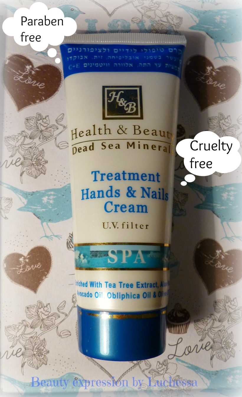 Health & Beauty - Dead sea minerals Treatment Hands Nails Cream
