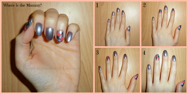 Braided nail design Catrice Essence