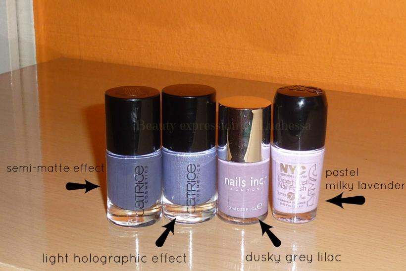 Nail polishes Catrice Nails inc NYC