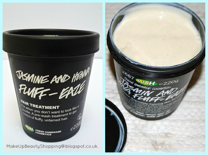 Lush Jasmine and Henna Fluff-Ease treatment