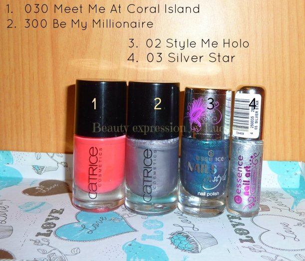 Catrice Essence nail polishes