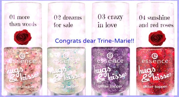 Essence hugs and kisses limited edition giveaway