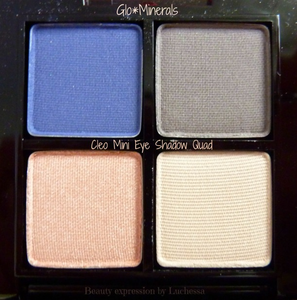 GloMinerals Cleo Mini Eye Shadow Quad