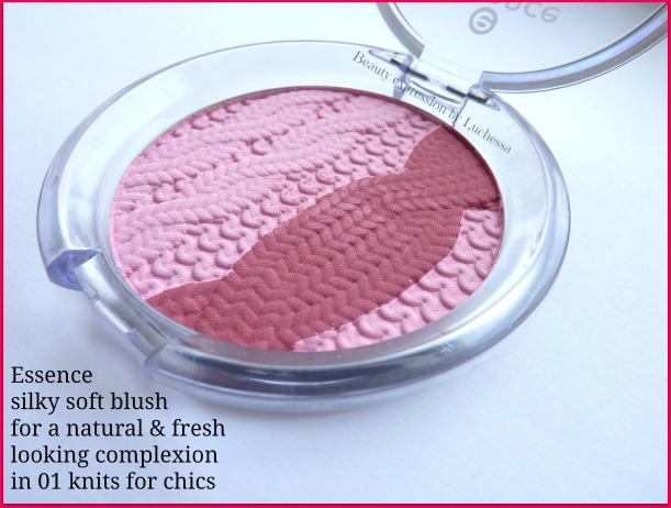 Essence blush  01 knits for chics Home sweet home