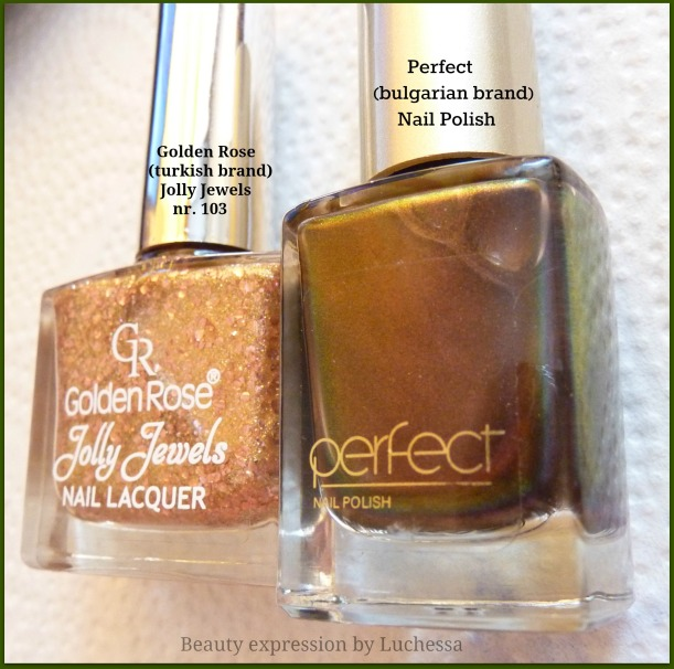 Perfect nail polish, Golden Rose jolly jewels 103