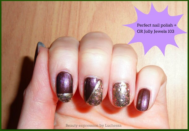 golden rose jolly jewels 103, perfect nail polish nail design