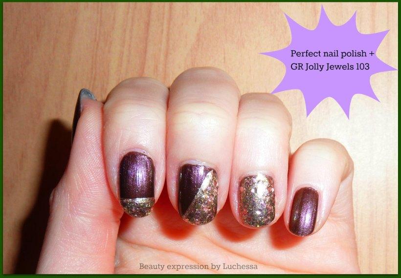golden rose jolly jewels 103, perfect nail polish nail design