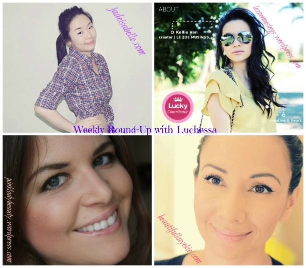 The weekly round-up with luchessa