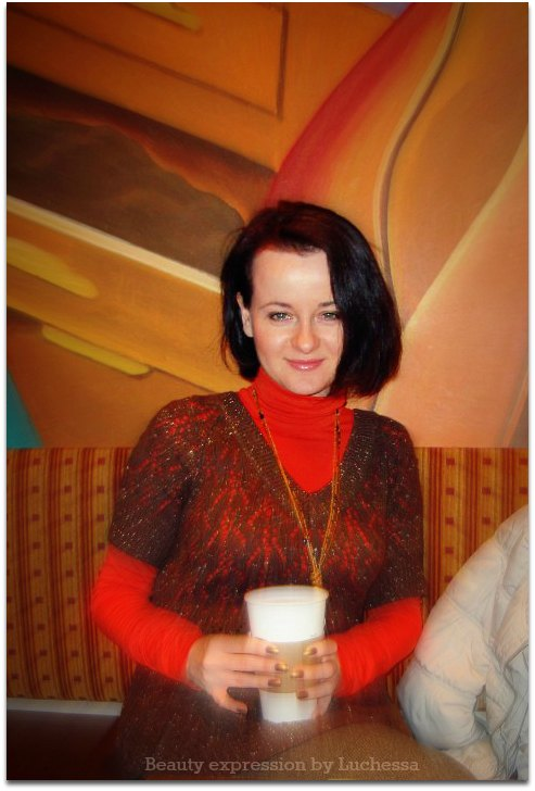 Luchessa at cafe Balzac