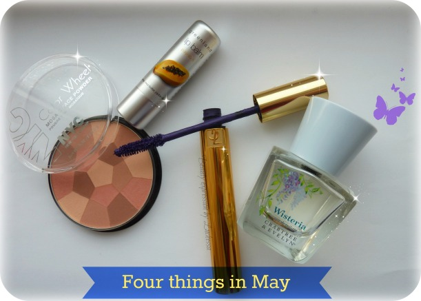 Four Favorite beauty things in May