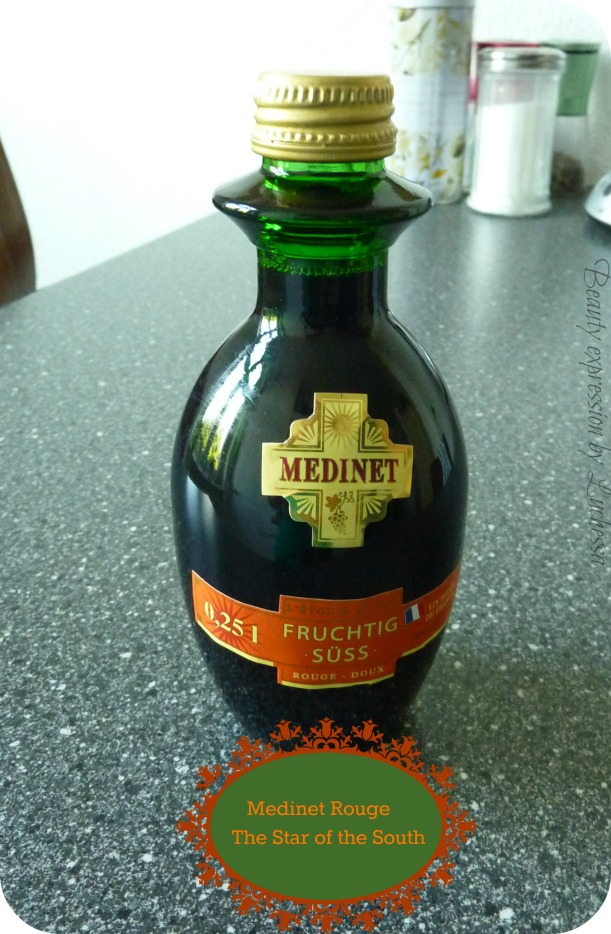 Medinet french red wine