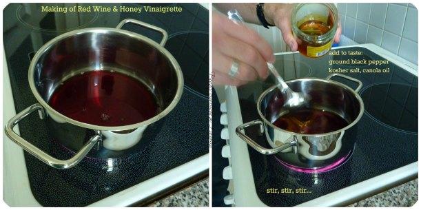 Red Wine Honey Vinaigrette